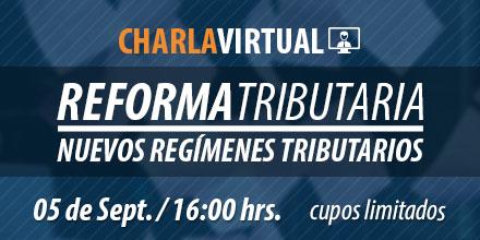 Charla Virtual sobre la Reforma Laboral. Cupos limitados